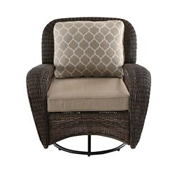 Prime Athens Patio Swivel Chair With Cushion Alphanode Cool Chair Designs And Ideas Alphanodeonline