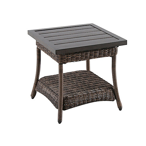 Beacon Park All-Weather Wicker Patio Accent Table