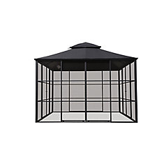 11 ft. X 11 ft. Aluminum Full Screen Gazebo