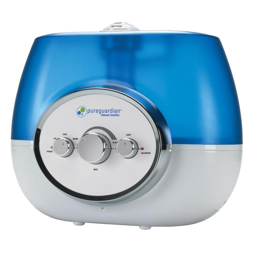 PureGuardian H1510CA 100-Hour Ultrasonic Humidifier by Guardian Technologies