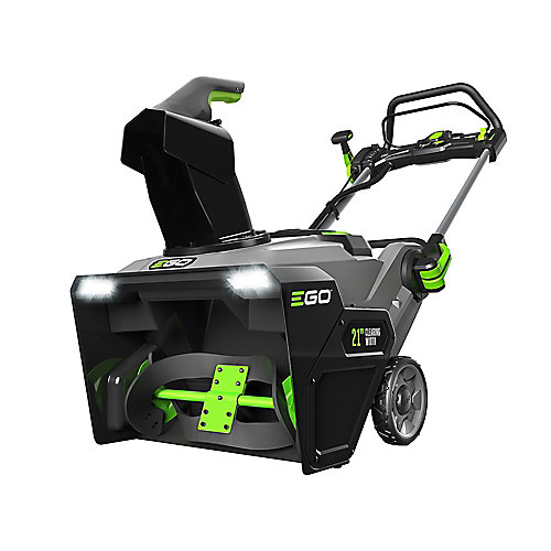 21 Inch 56 V Li-ion Single-Stage Cordless Snow Blower with (2) 7.5 Ah Batteries and Charger Included
