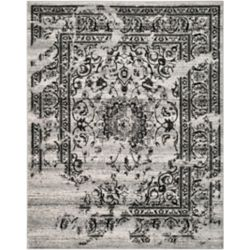 Safavieh Adirondack Alexa Silver / Black 8 ft. x 10 ft. Indoor Area Rug