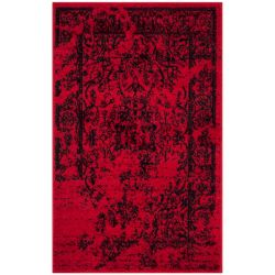 Safavieh Adirondack Alexa Red / Black 2 ft. 6 inch x 4 ft. Indoor Area Rug