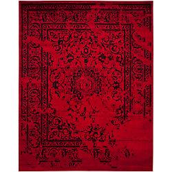 Safavieh Adirondack Alexa Red / Black 8 ft. x 10 ft. Indoor Area Rug