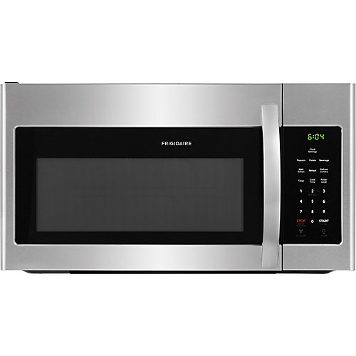 30-inch W 1.6 Cu. Ft. Over the Range Microwave in Stainless Steel