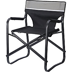 Compact Folding Director'S Chair 24 inch W X 20.8 inch L X 30.7 inch H Polyester + Steel