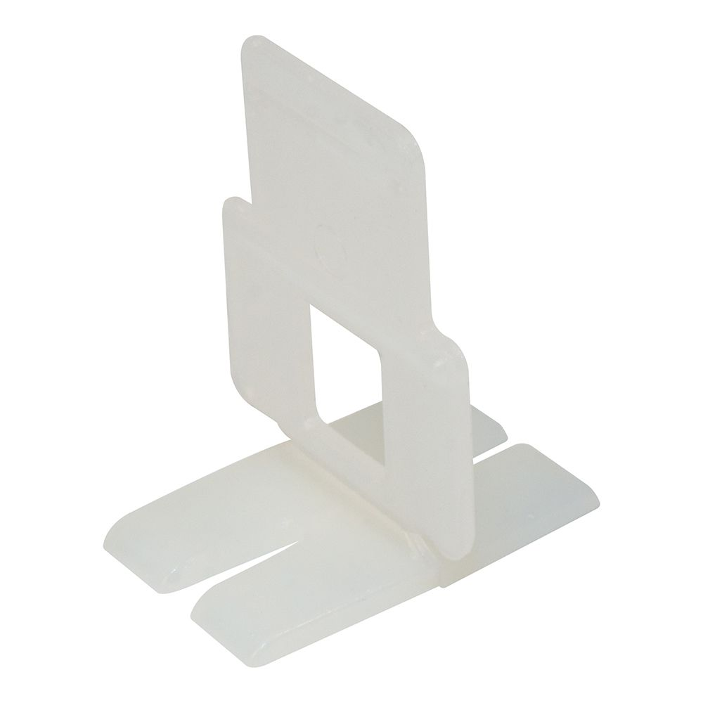 QEP Flat Lash Tile Leveling, Aligning and Spacer Clip (300-Box)