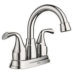 MOEN Idora 4-inch Centerset 2-Handle Bathroom Faucet in Chrome