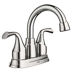 Idora 4-Inch Centerset 2-Handle Bathroom Faucet in Chrome
