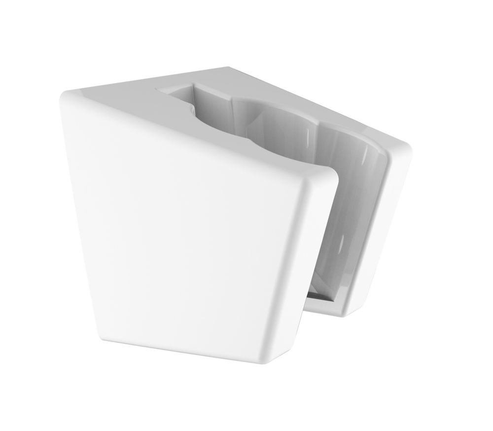 Delta Shower Wall Bracket, White