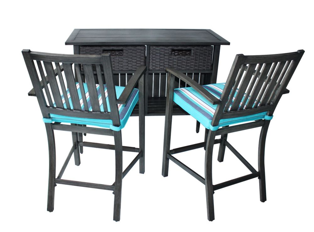 tables de bar de jardin home depot canada. Black Bedroom Furniture Sets. Home Design Ideas