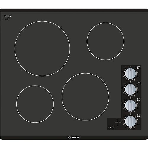 Bosch 500 Series - 24 inch Electric Cooktop - Frameless Design