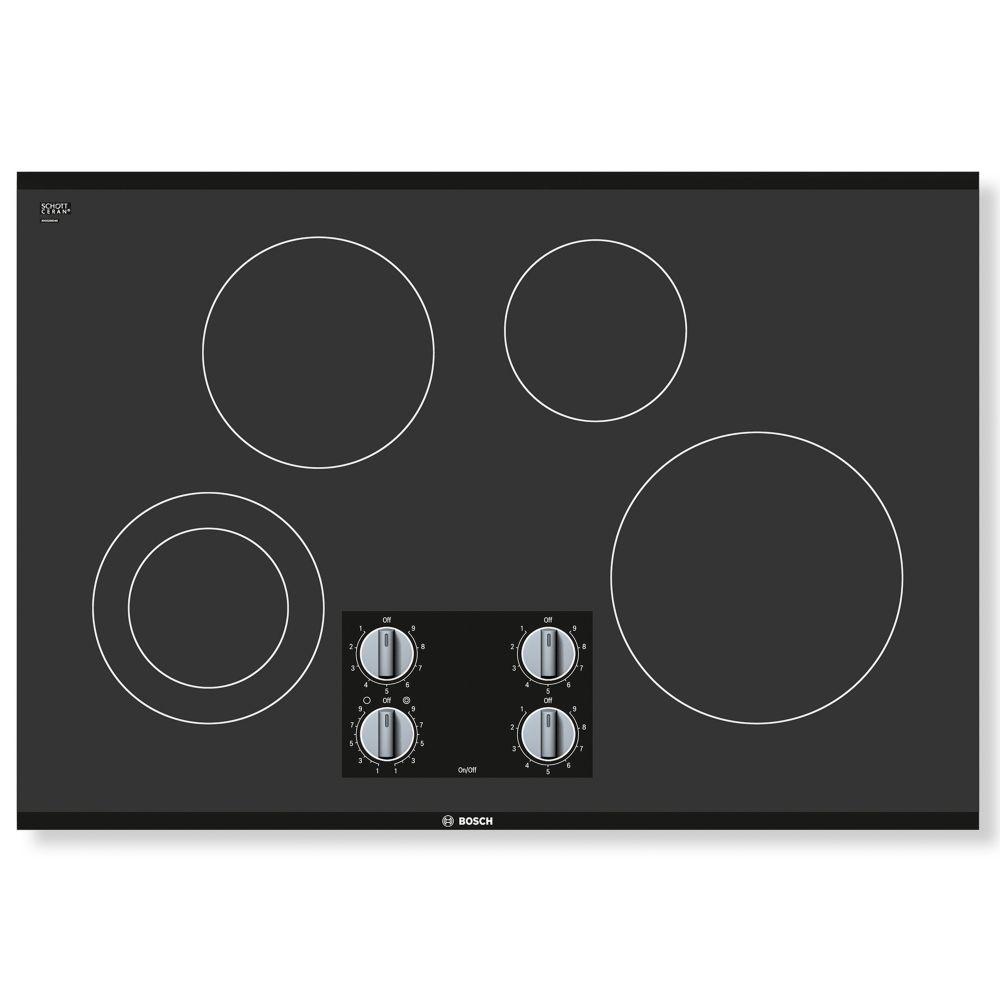 Bosch 500 Series - 30 inch Electric Cooktop - Frameless Design