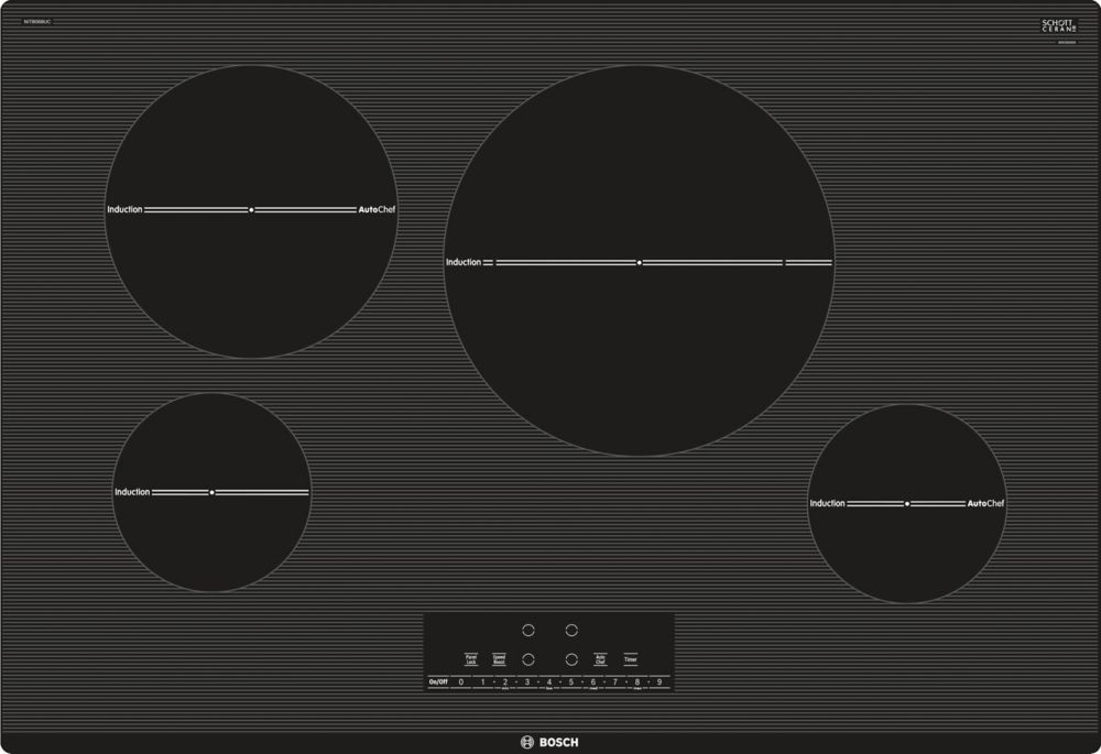 800 Series - 30 inch Induction Cooktop - Frameless Design