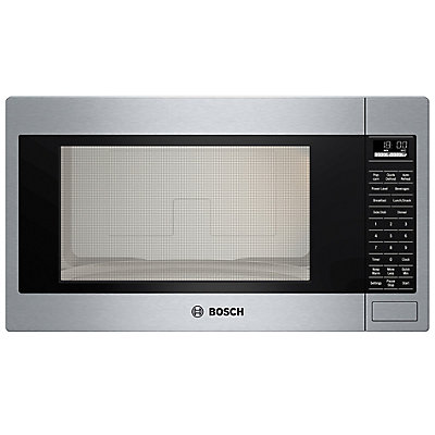 Bosch 500 Series 2 1 Cu Ft Built In Microwave Ss The Home Depot Canada