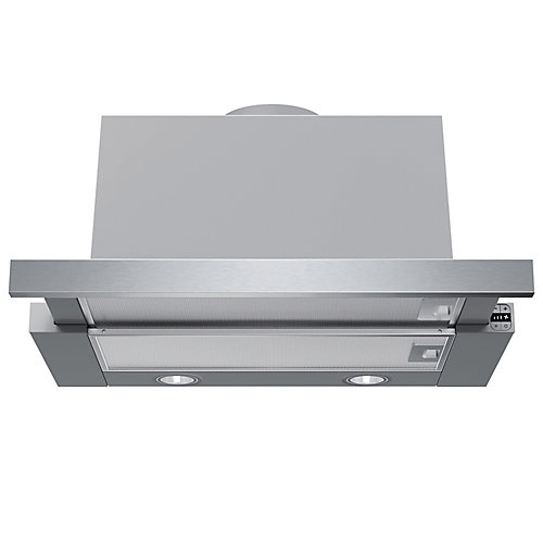 500 Series - 24 inch Integrated Pull-Out Hood - 400 CFM