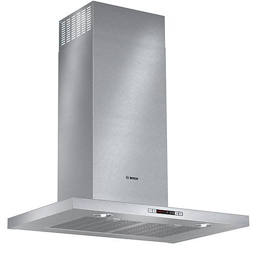500 Series- 30 inch Box Style Chimney Wall Hood - 600 CFM