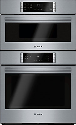 Bosch 800 Series 30 Sd Oven Combo Upper Microwave Lower Eu Conv Touch Control The Home Depot Canada