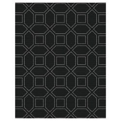 Hampton Bay 5 ft. 2-inch x 6 ft. 7-inch Indoor/Outdoor Area Rug Fresco Edana Area Rug