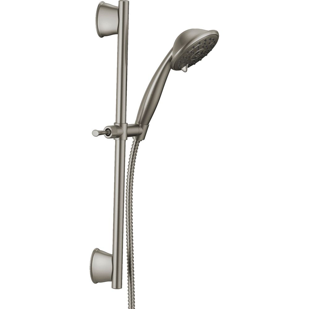 Delta 3-Spray Handshower Wall Bar in Nickle