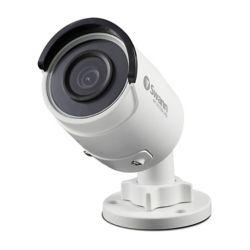 """Swann Caméra de sécurité 4K IP de type """"bullet"""", blanc"""