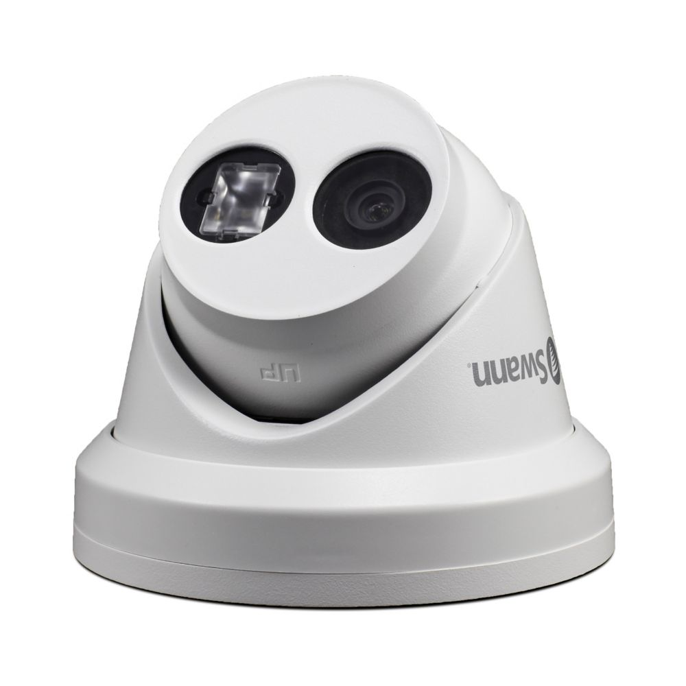 4K Dome White IP Security Camera