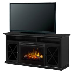 Dimplex Newman 62-inch Freestanding Electric Media Console in Dark Roast