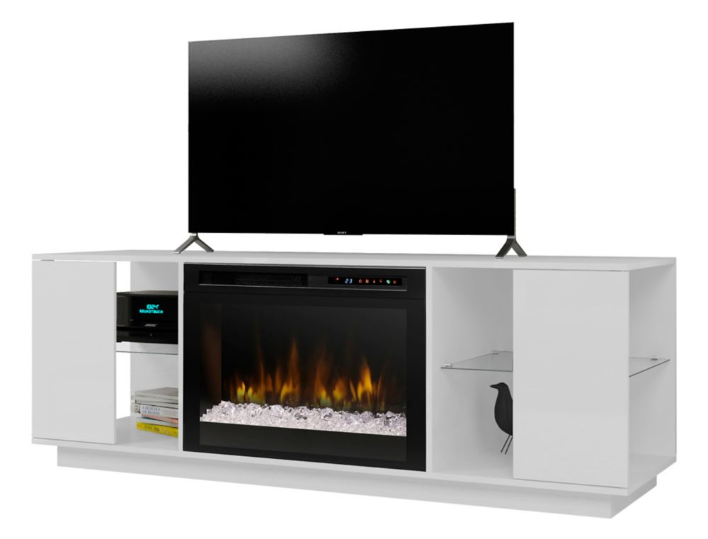 cinema open tv equipment modern conceal dimplex home stands to fireplace with products your fire bach tvfireplaces