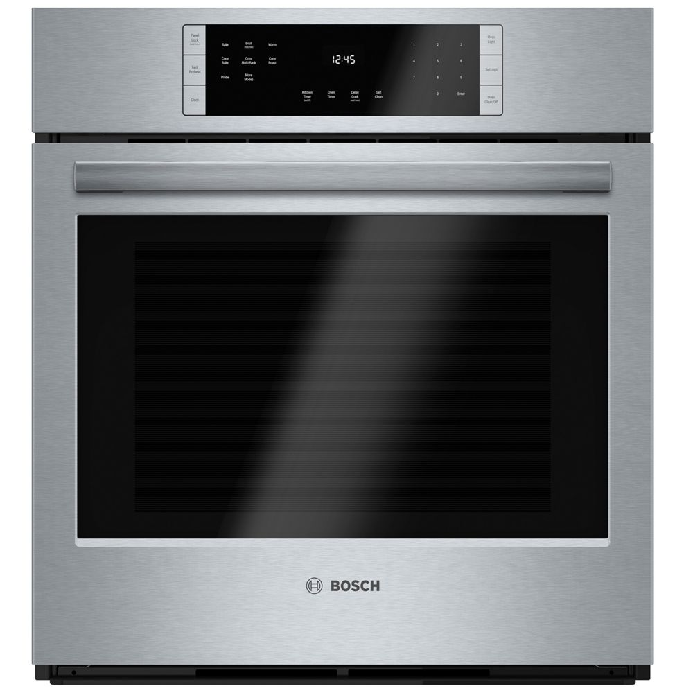 Bosch 800 Series - 27 inch Single Wall Oven w/ European Convection