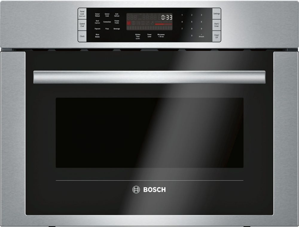Bosch 500 Series - 24 inch Built In Speed Oven/Convection Microwave - 120V