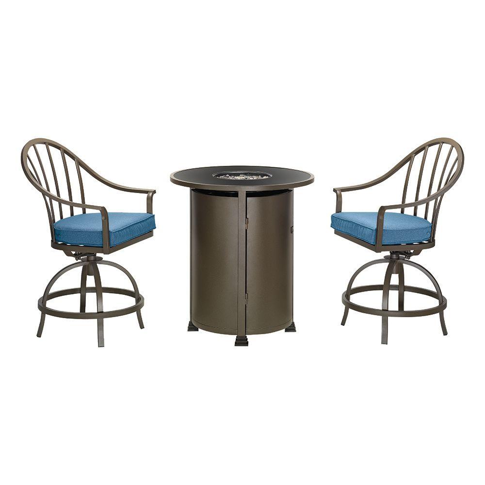 bistro sets the home depot canada. Black Bedroom Furniture Sets. Home Design Ideas