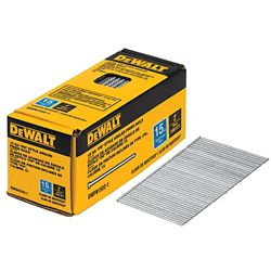DEWALT 2-inch x 15-Gauge Angled Glue Collated Finish Nails (1,000 per Box)