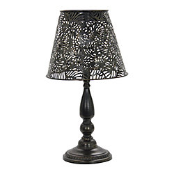 Hampton Bay 18 inch Solar Table Lamp