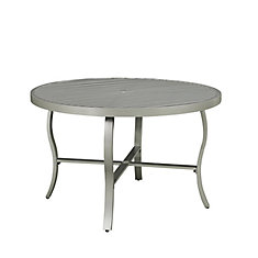 South Beach Round Outdoor Dining Table
