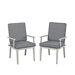 Homestyles South Beach Patio Arm Chairs (Set of 2)