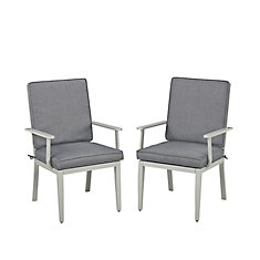 South Beach Patio Arm Chairs (Set of 2)