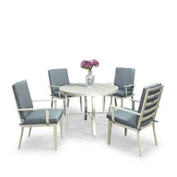 Homestyles South Beach 5 Pc. Table de salle à manger ronde et 4 chaises