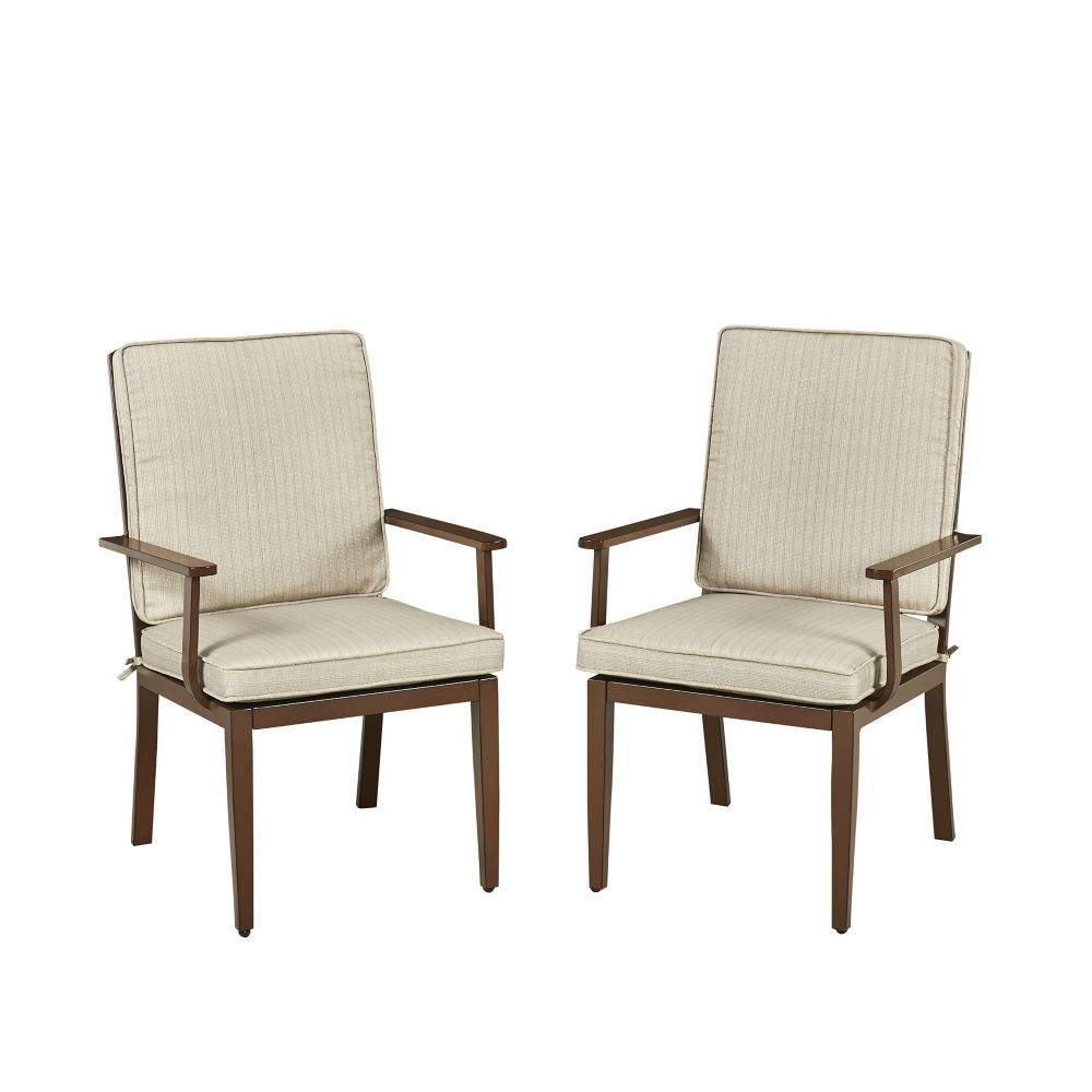 Homestyles Key West Patio Arm Chair (Set of 2)