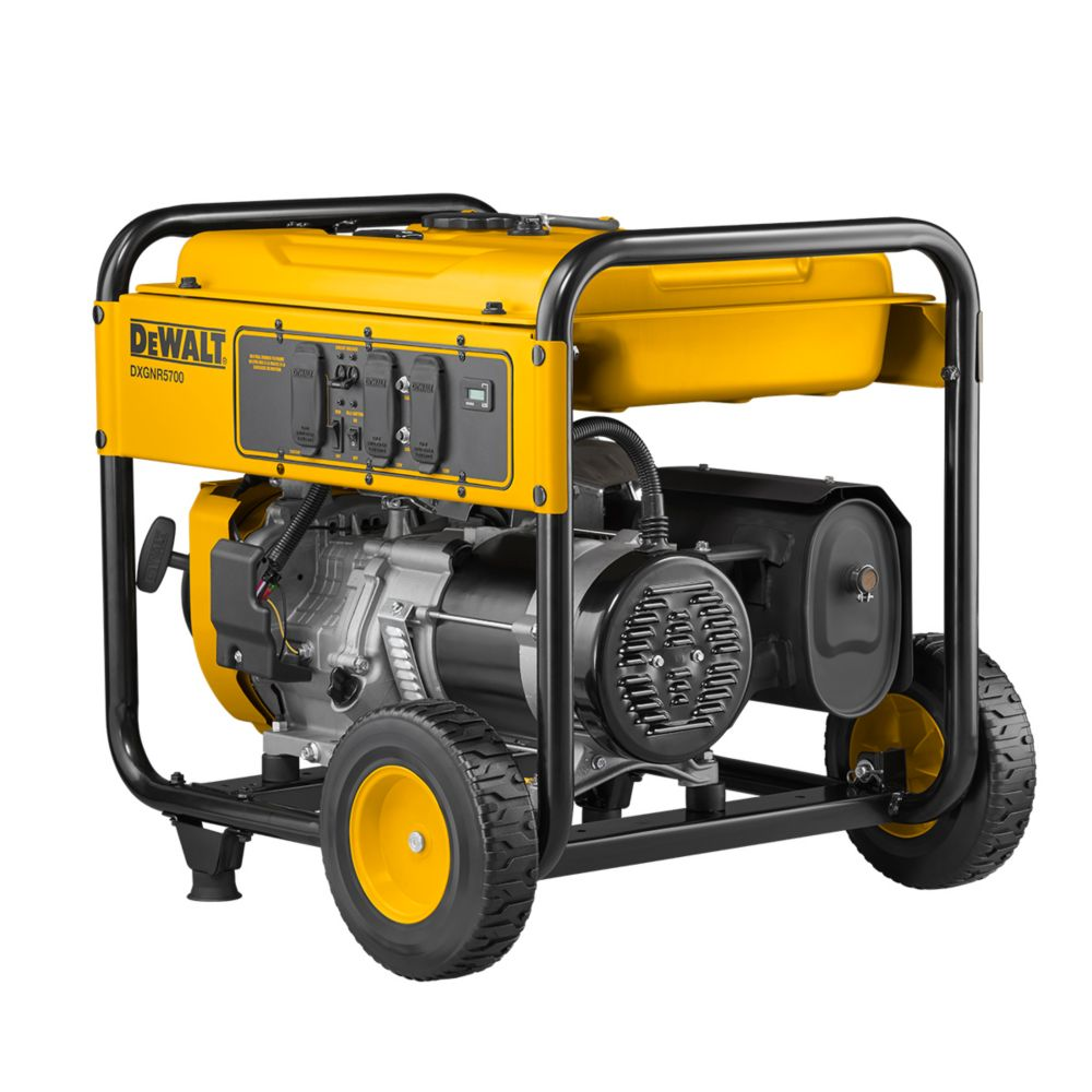 DEWALT 5700W Gas Powered Portable Generator