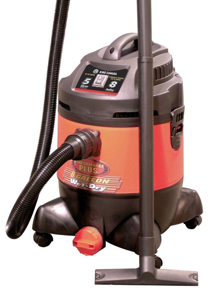 Performance Plus 8 Gallon Wet Dry Vacuum