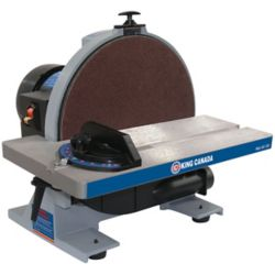 King Canada 12 Inch Disc Sander with Brake