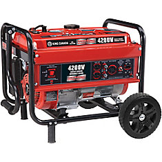 4200W Gasoline Generator with Wheel Kit