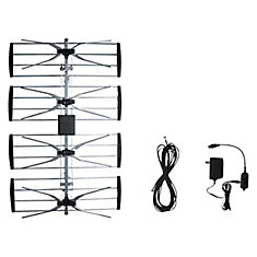 Outdoor TV antenna with Booster (ANT2092)
