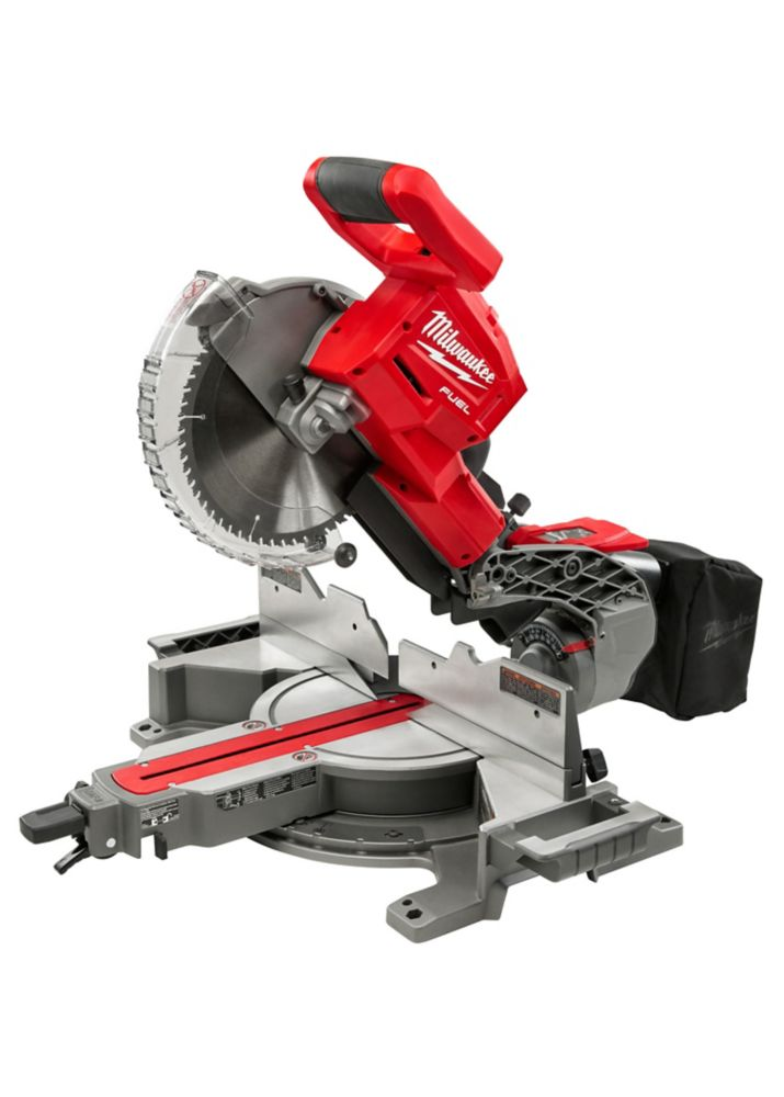 Milwaukee Tool M18 FUEL 18V Lithium-Ion Cordless 10-inch Dual Bevel Sliding Compound Miter Saw 2734-20
