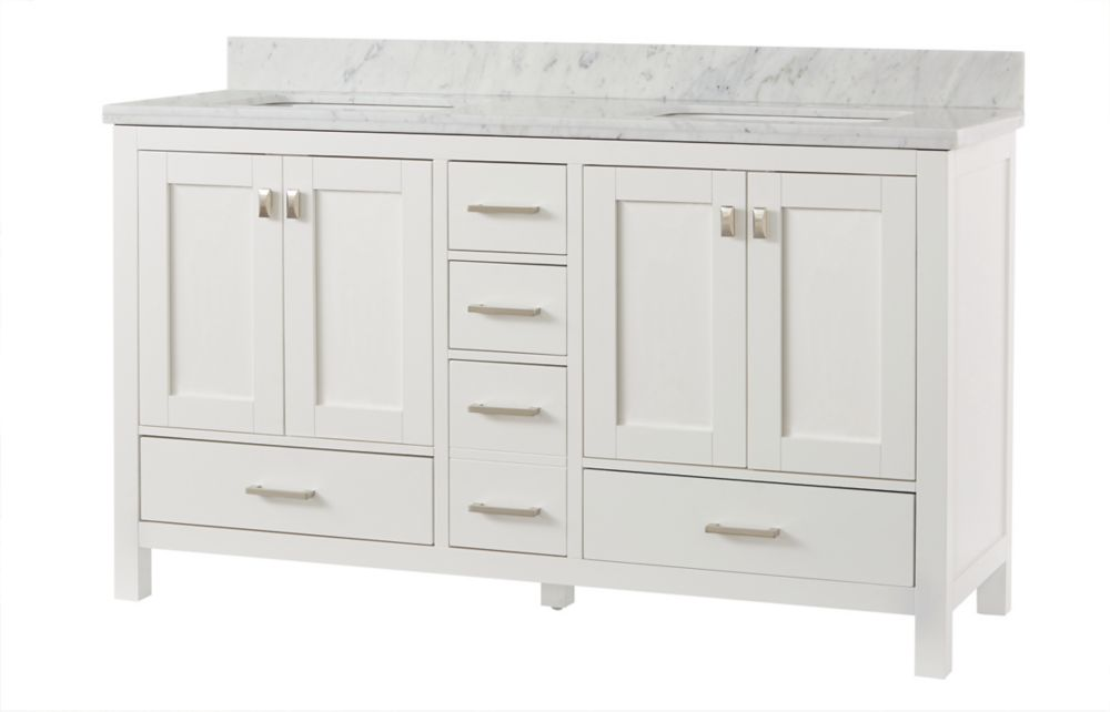 vanitys and vanities bathroom sink bath vanity white carrara transitional home design marble product consoles aria