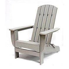 Foldable Muskoka Chair in Grey