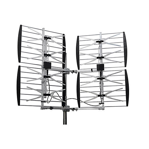 Super 8 Bay Multidirectional Ultra Clear Digital Outdoor TV Antenna (ANT7289)