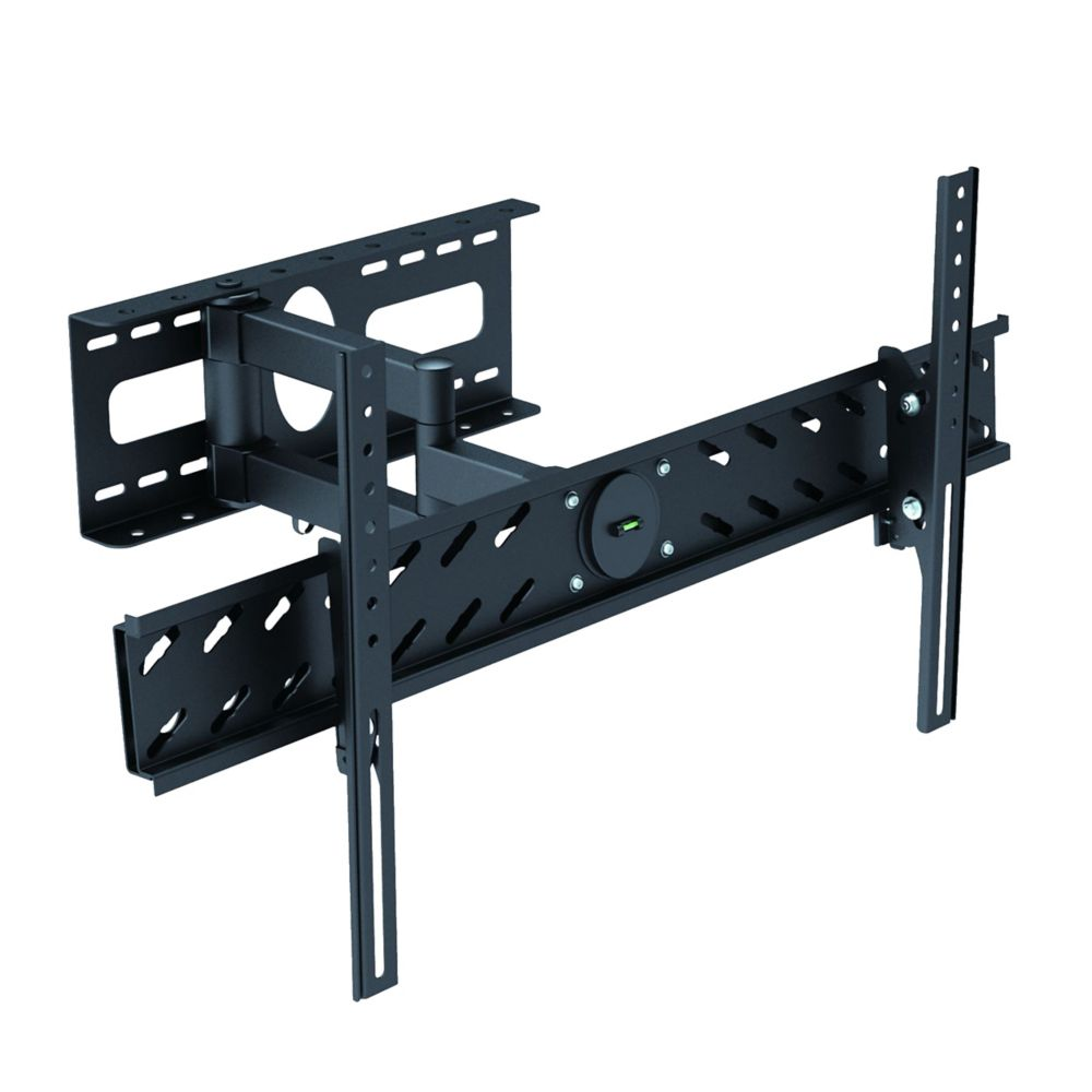 TygerClaw Full Motion Wall Mount for 37 inch to 70 inch Flat Panel TV (LCD3427BLK)