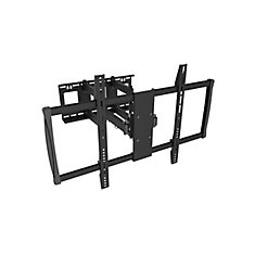 Full Motion Wall Mount for 60 inch to 100 inch Flat Panel TV (LCD3482BLK)