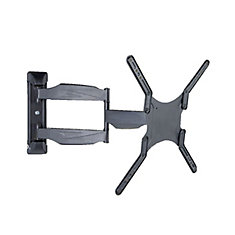 Full Motion Wall Mount for 19 inch to 57 inch Flat Panel TV (LCD5008BLK)